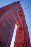 Close-up of the San Francisco Golden Gate Bridge - 97527706