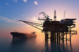 Fototapety Oil Rig