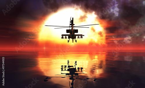 helikopter-wojskowy-i-refleksje