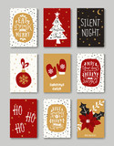 Christmas Greeting Cards Collection - 97556156