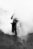 Fototapety stunt biker