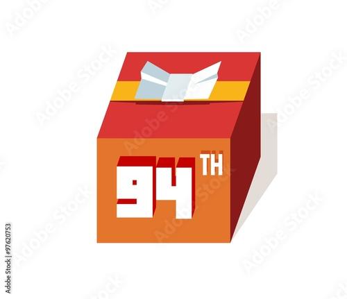 Box Present For Happy 94th Birthday