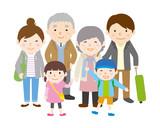 家族旅行 春秋 3世代