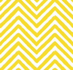 Vector Chevron Yellow Seamless Pattern