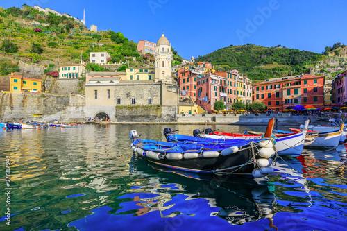 Poster Cinque Terre, Vernazza. Italy