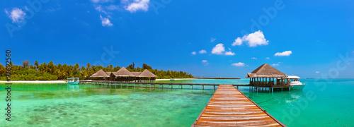 fototapeta na ścianę Tropical Maldives island