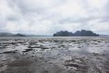 odpływ morza, Filipiny, egzotyczna wyspa, plaża © iluvdesign