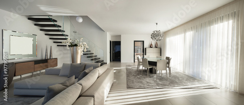 beautiful apartment, interior - 97790501