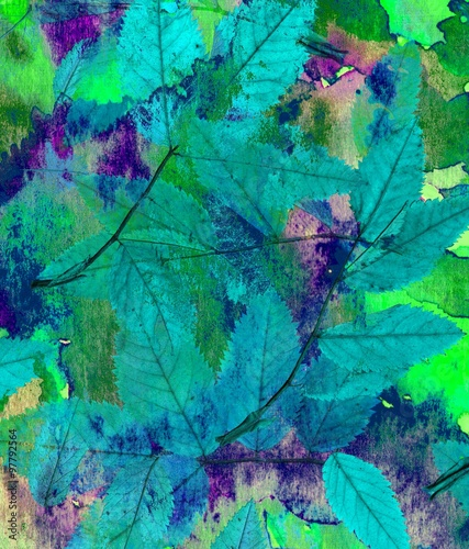 Large bright backgrounds. The mixing paints and nature