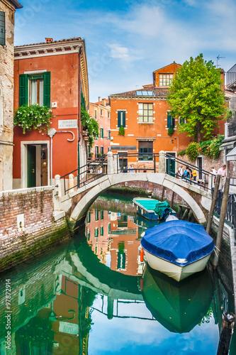 Zdjęcia na płótnie, fototapety na wymiar, obrazy na ścianę : Postcard view of Venice, Italy