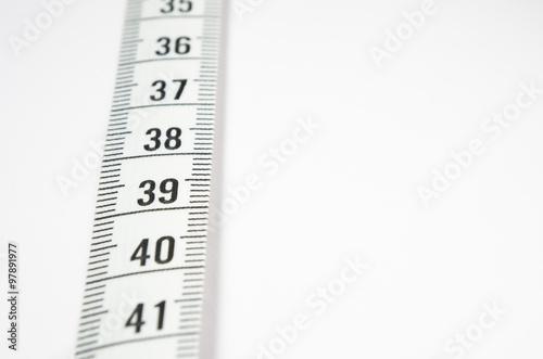 Poster Cinta métrica para medir la talla.