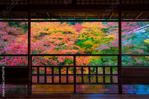 Keuken foto achterwand Kyoto 京都 瑠璃光院の紅葉