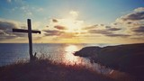 Scenic sunrise over the coastline, Bulgaria