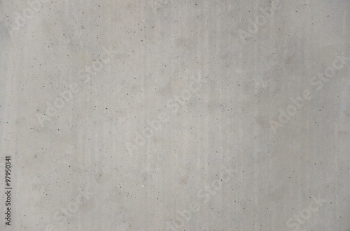 Poster Betonbehang gray cast in place concrete wall texture background