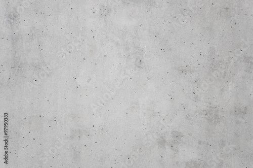 Plakat gray cast in place concrete wall texture background