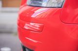 Auto Schaden Lack Kratzer Stoßstange