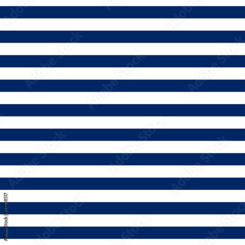 Materiał do szycia Striped seamless pattern with horizontal line. Fashion graphics design for t-shirt, apparel and other print production. Strict graphic background. Retro style. You can simply change color and size