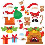 Santa vector illustration