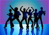 Fototapety People Disco Dancing