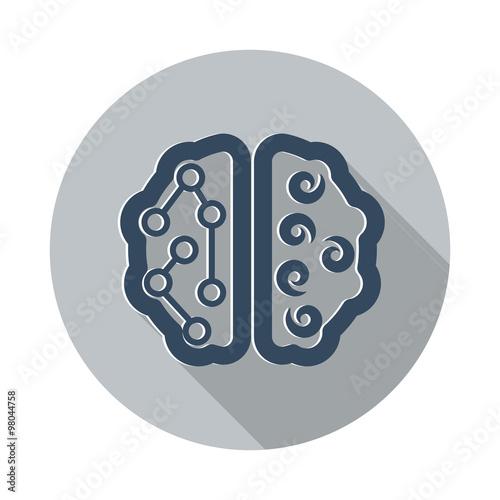 flat brain icon - photo #18