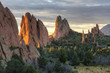 Golden Light in the Garden of the Gods