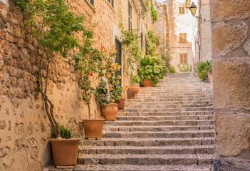 Altes Dorf Gasse Treppe Mediterran