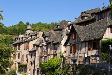 Wieś Conques