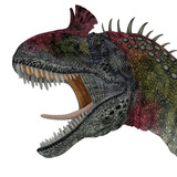 Cryolophosaurus Dinosaur Head - Cryolophosaurus was a theropod dinosaur that lived in Antarctica during the Jurassic Period.