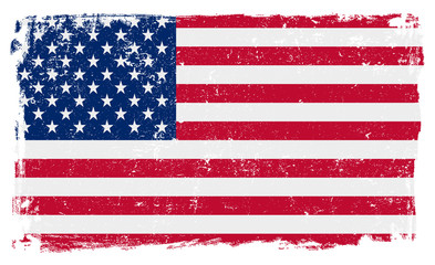 USA Flag in Vector Format
