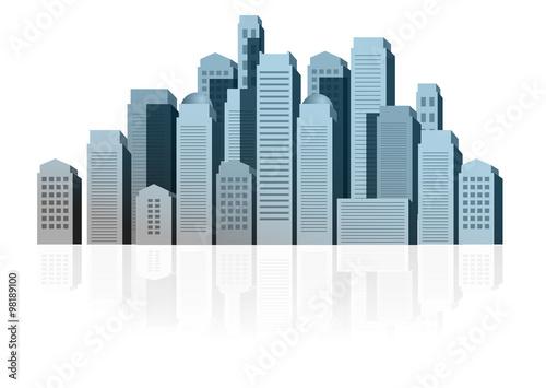 palazzi edifici case skyline immobiliare immagini e