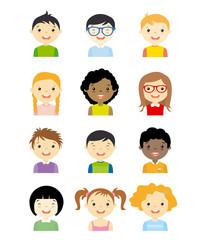 avatar dzieci ustawiony