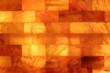 Leinwanddruck Bild - Salzsteine einer Salzgrotte horizontal
