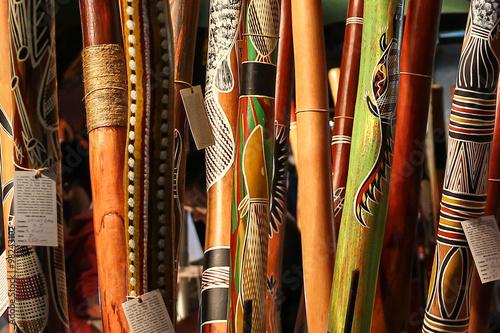 obraz PCV Aboriginal instrument