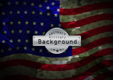 Fototapety Camouflage military pattern flag USA background. Vector illustration