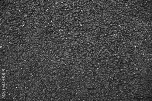 Dark solid asphalt.