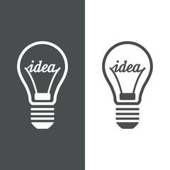 Icono plano idea #1