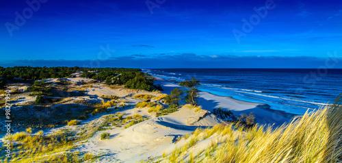 Papiers peints Bleu fonce Panorama pejzaż morski