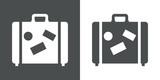Icono plano maleta #1