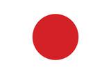 Vector of Japanese flag. - 98317171