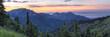 Hurricane Ridge Sunset Panorama