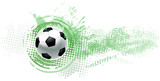 soccer ball banner - 98373129