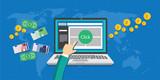 pay per click ppc concept