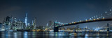 Fototapeta Nowy York - new york cityscape night view from brooklyn © Andrea Izzotti