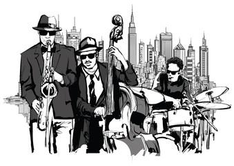 Jazz band in New-York © Isaxar