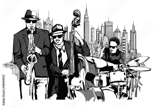 Jazz band in New-York - 98444935