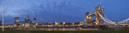 Fototapeta London Cityscape Panoramic