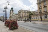 Fototapety WARSAW - JULY 09: Holy Cross Church built between 1679-1696 in B