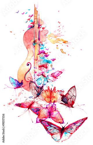 Obraz music