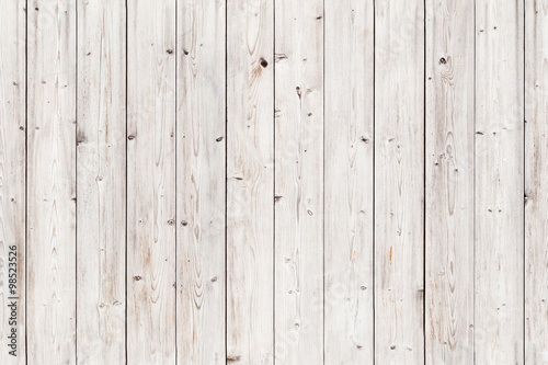 Old white wooden wall. Seamless background texture - 98523526