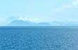 Obrazy na płótnie, fototapety, zdjęcia, fotoobrazy drukowane : Sea summer view from ferry (Greece)